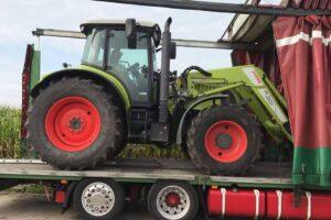 Транспорт на земеделска и агротехника от Западна Европа до България