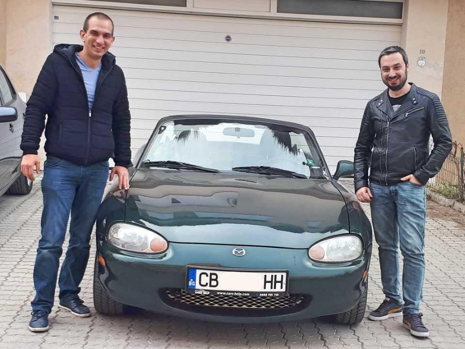 Внос от Германия на Mazda MX-5 1.6i 16V Cabrio Roadster