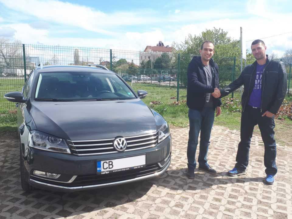 Внос от Германия - Volkswagen Passat Variant 2011 1.4 TSI EcoFuel DSG Kombi
