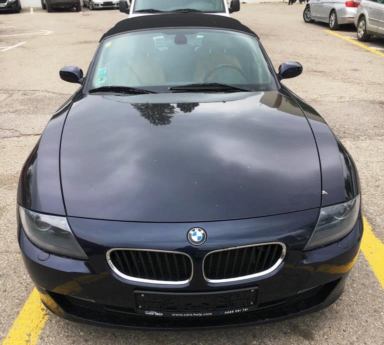 Преди регистрация BMW z4