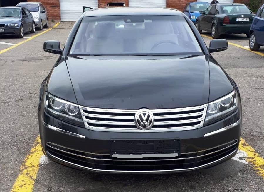Преди регистрация VW Phaeton