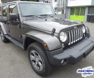 Покупка, внос на кола от Германия - Jeep Wrangler Unlimited Sahara 4x4 2018 284hp 1