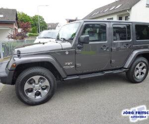 Покупка, внос на кола от Германия - Jeep Wrangler Unlimited Sahara 4x4 2018 284hp 2