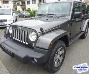 Покупка, внос на кола от Германия - Jeep Wrangler Unlimited Sahara 4x4 2018 284hp 6