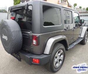 Покупка, внос на кола от Германия - Jeep Wrangler Unlimited Sahara 4x4 2018 284hp 7