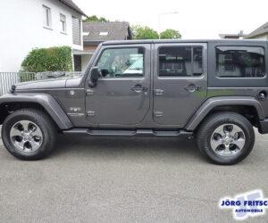 Покупка, внос на кола от Германия - Jeep Wrangler Unlimited Sahara 4x4 2018 284hp 8