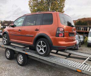 Покупка, внос на кола от Германия - VW CrossTouran 2.0 TDI Highline, Xenon, Кожа, Навигация, 7 места 13