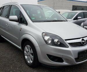 Покупка, внос на кола от Германия - Opel Zafira B Edition Erdgas (CNG) 2010 150 PS 2