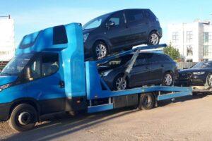 Транспорт, превоз, платформа, автовоз на автомобили, коли, мотори от Германия до България (5)