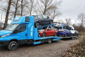 23. Транспорт, превоз, платформа, автовоз на чисто нови Hyundai i20