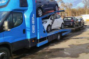 33. Транспорт, превоз, платформа, автовоз на чисто нови Hyundai i20 12.03.2021