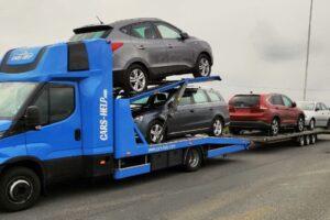 34. Транспорт, превоз, платформа, автовоз на Hyundai ix35, VW Passat, Honda CRV, Seat Ibiza