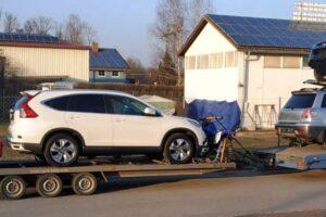 36. Транспорт, превоз, платформа, автовоз на Hyundai ix35, Mitsubishi Outlander, Honda CRV, Hyundai i10