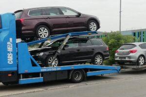 56. Транспорт, превоз, платформа, автовоз от Германия до България на VW Passat, Opel Astra, Honda HR-V от Германия до България